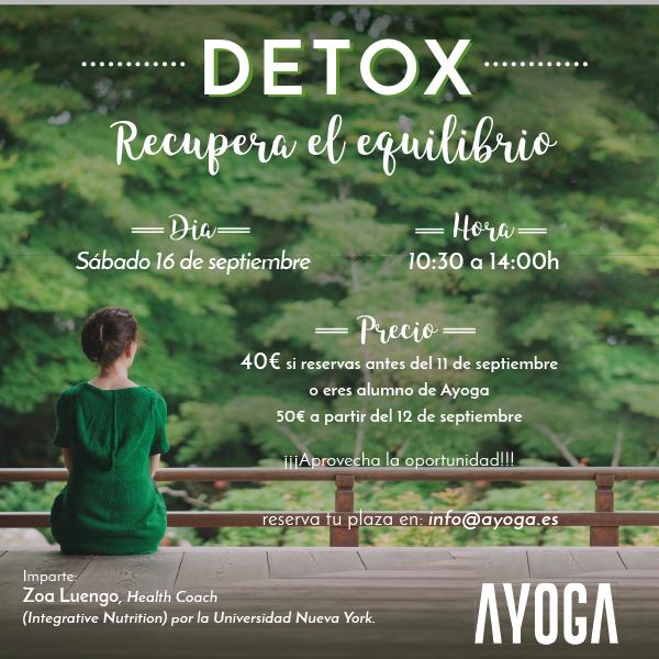 Detox: Recupera el equilibrio