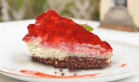 Cheesecake vegano, un placer que no te puedes perder